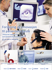 img showing Helse Sør-Øst report on research, 2018